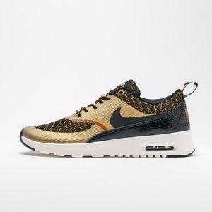 Rare Nike Air Max Thea Jacquard Bronzine black 7.5